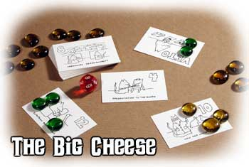 The Big Cheese card game