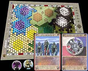 Mamoonia the Amulet of Historia board game
