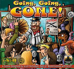 Going Going Gone card game