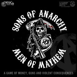 Sons of Anarchy men of mayhem card game