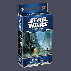 Star Wars LCG - It Binds All Things Force Pack