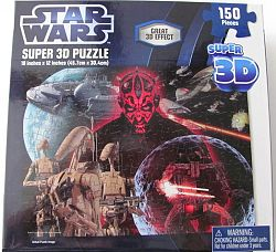 Star Wars Super 3D jigsaw puzzle
