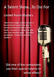 A Talent Show...To Die For murder mystery download party kit